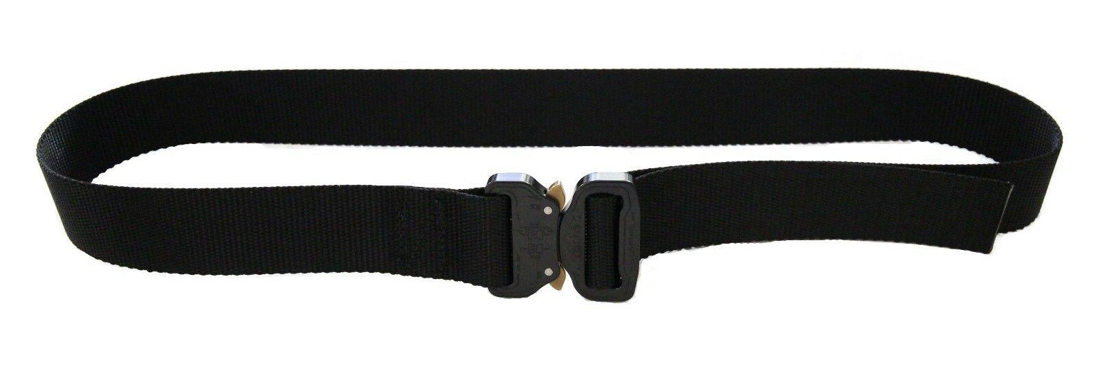 Hank's Surplus Heavy Duty Tactical Cobra Buckle Waist Belt 1