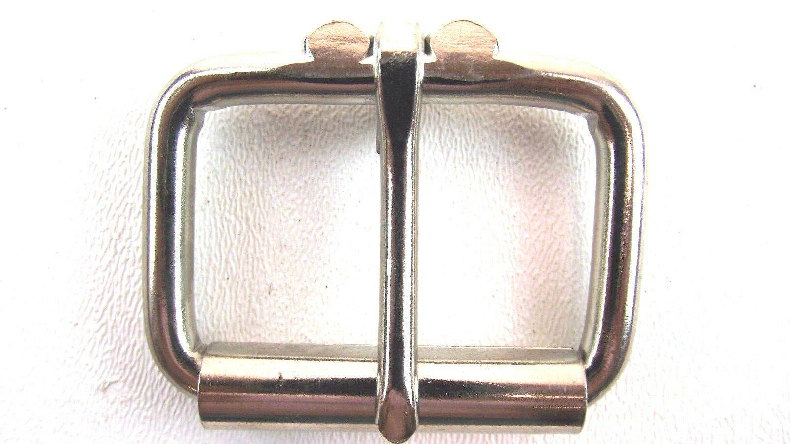 heavy duty stainless finish roller belt buckle