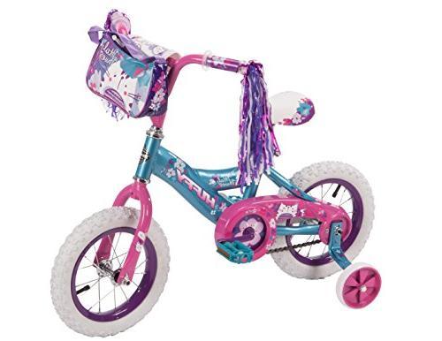huffy petal power girls bike ages 3 5 height 37 42