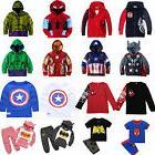 kid boys superhero clothes hoodies girl sweatshirt
