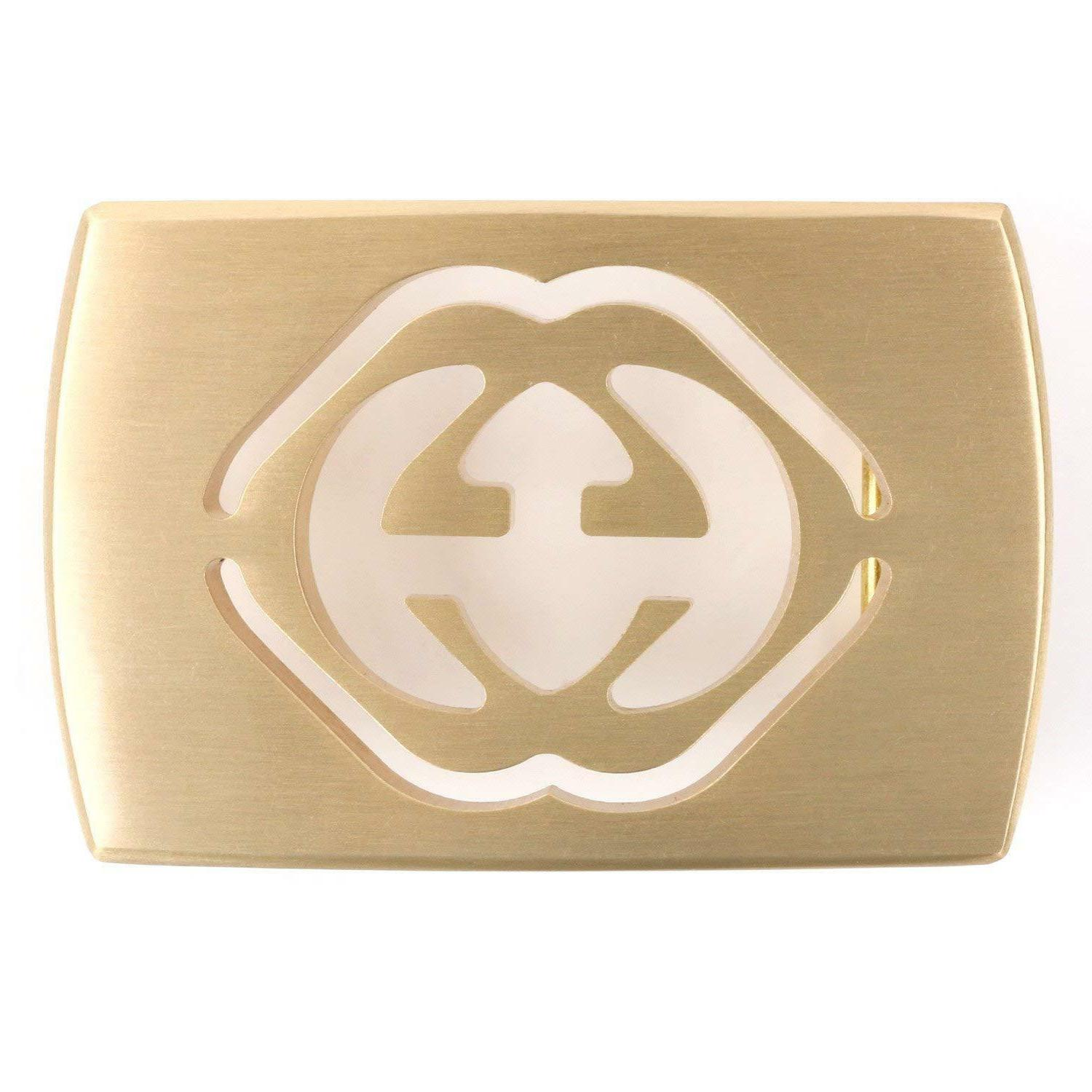 Landisun Rectangle Frame Western Belt Buckle