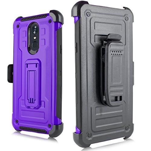 LG Stylo LG Q Stylus Rugged Case, Rugged Duty