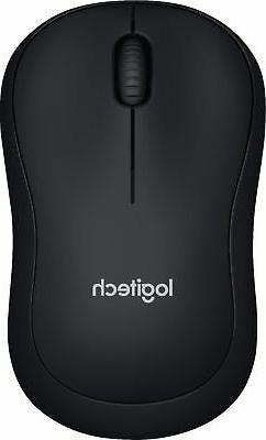 Logitech M185 Wireless Optical Mouse Nano Receiver  Gray - N