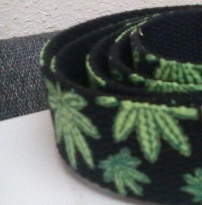 Marijuana Belt Belt Buckle