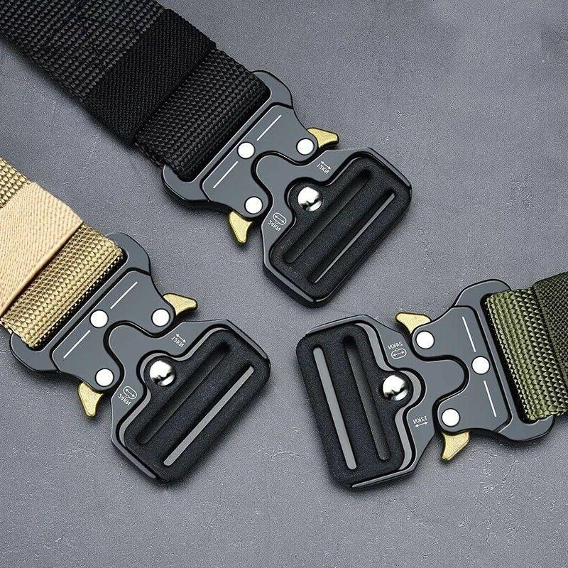 MEN Military Army Adjustable Quick Belts