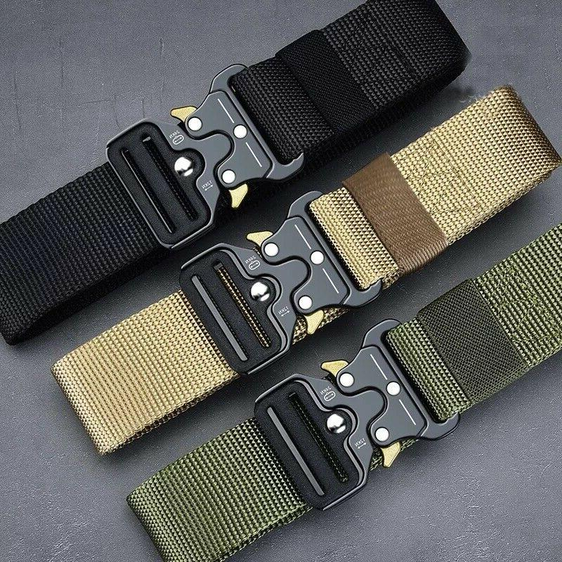 men casual military tactical army adjustable quick