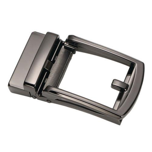 Men Metal Belt Buckle Automatic Slide DIY