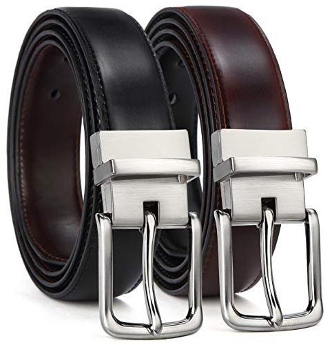 men s belt leather reversible belt