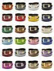 Men's Belt Reversible Wide Bonded Leather Gold-Tone Buckle O