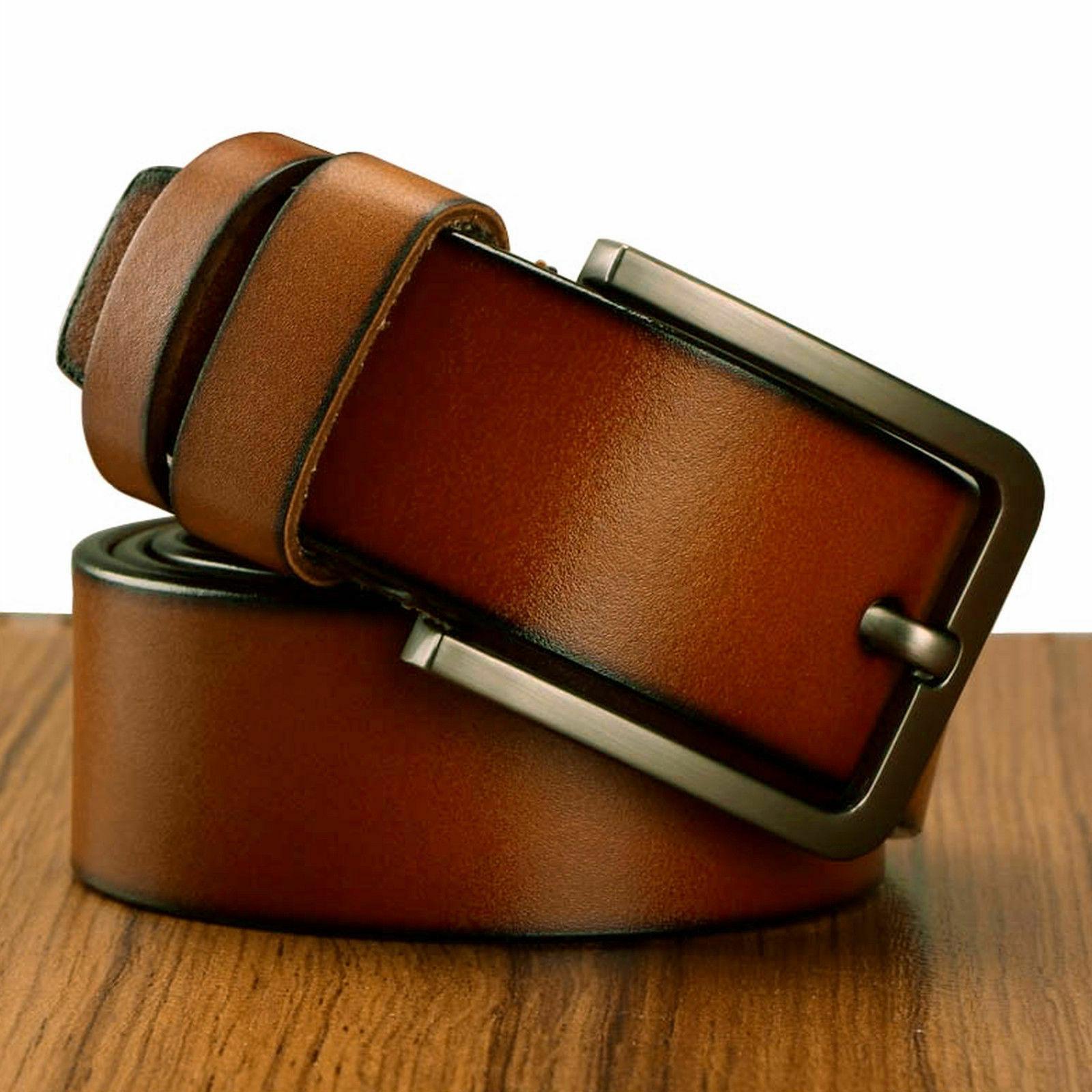 Men's Metal Buckle Handcrafted Belt