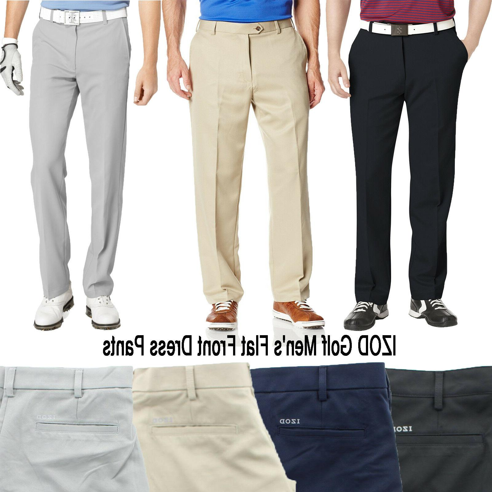 men s golf performance flat front classic