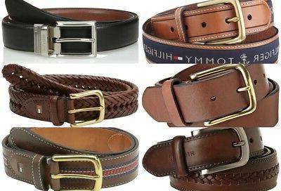Tommy Hilfiger Men's Leather Dress Belt Buckle