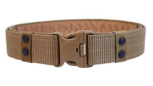 men s military style nylon tactical belt