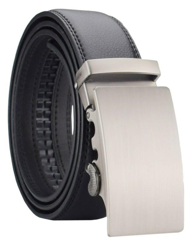 QISHI Buckle Automatic Ratchet Leather Belt Buckle,kt311