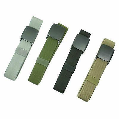 Men's Universal Tactical Heavy Duty Elastic Military Belt  P