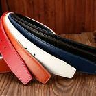 Men's/Women's H belts Leather Waist Belt Waistband Without B
