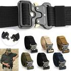 Men Sports Belt Buckle Combat Waistband Tactical Rescue Rigg