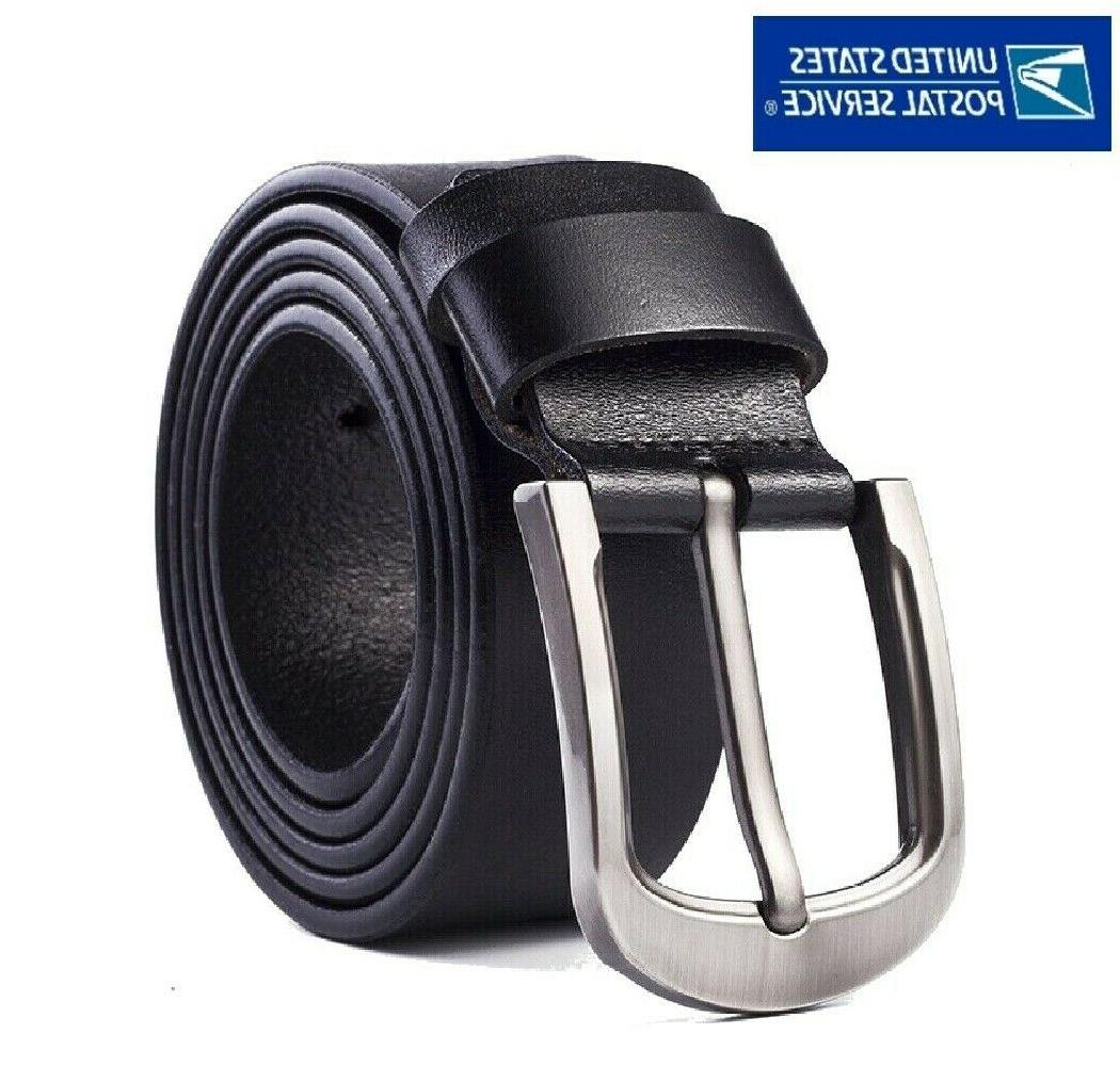 mens genuine leather belt belts with classic