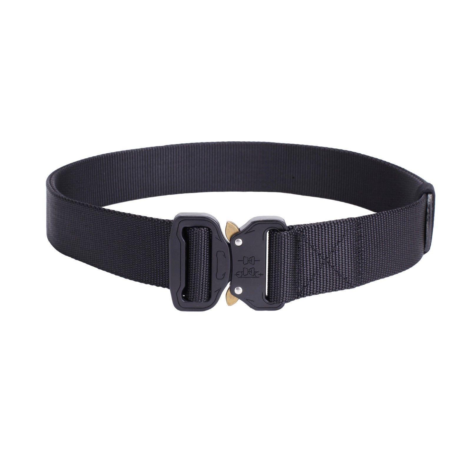 Mens Tactical Gun Belt Buckle Adjustable