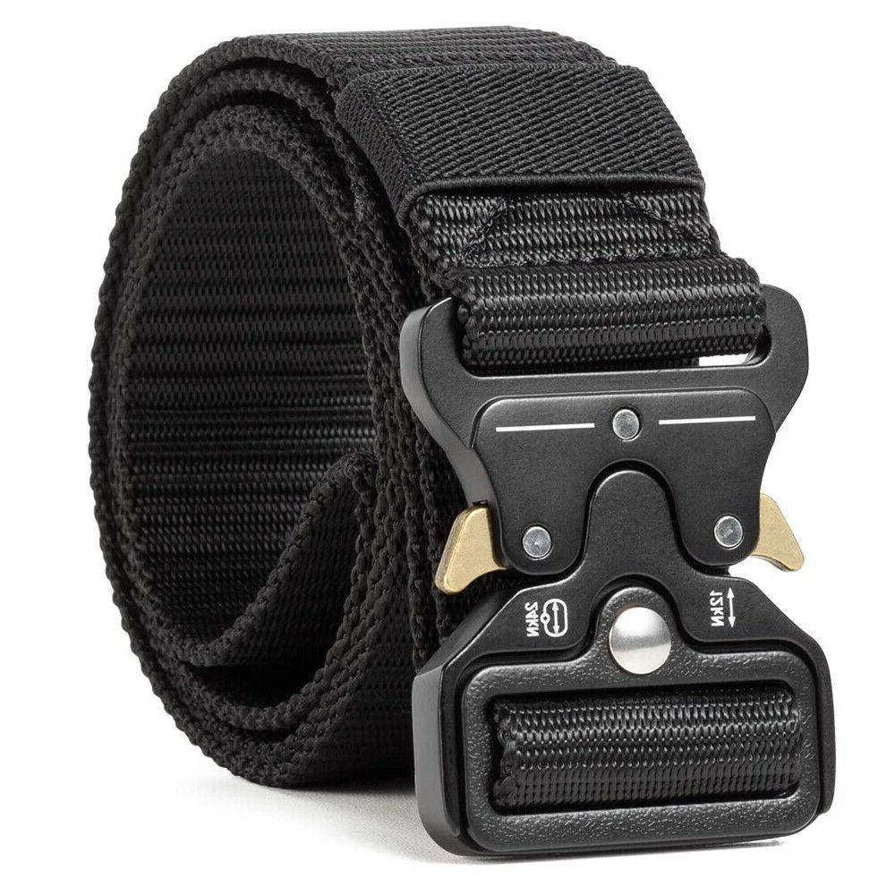 Military Tactical Belt Duty Security Utility Nylon