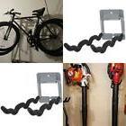 Wall Mount Bike Rack 2 Bicycle Holder Metal Hanger Hook Fold