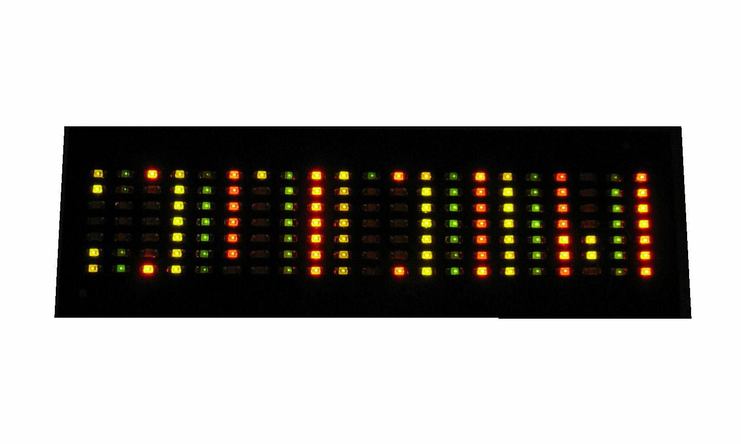 Multi-Color Yellow Red Green LED Belt Buckle Circuit Board I