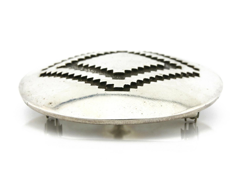 Navajo Buckle .925 Silver Jackson Handmade