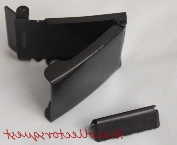 NEW WIDE FLIP TOP BLACK BELT ONLY TIP Canvas Belts