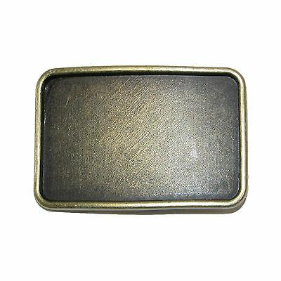 New CTM Blank Large Belt Buckle