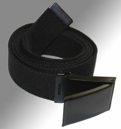 new flip top adjustable web canvas black