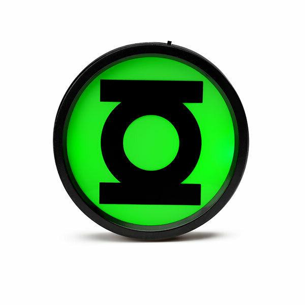 new green lantern light up belt buckle