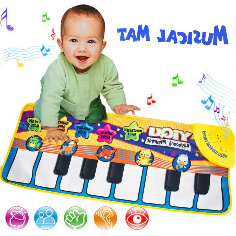 new musical music kid piano play baby