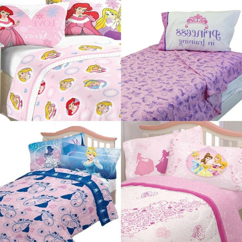 nEw DISNEY PRINCESSES BED SHEETS SET - Cinderella Sofia Arie
