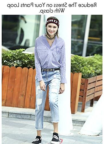 No Buckle Stretch For Women/Men Belt Up for Jeans Pants
