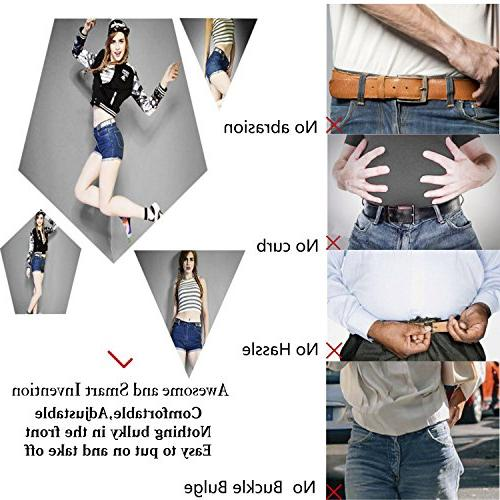 No Buckle Stretch For Women/Men Belt Up for