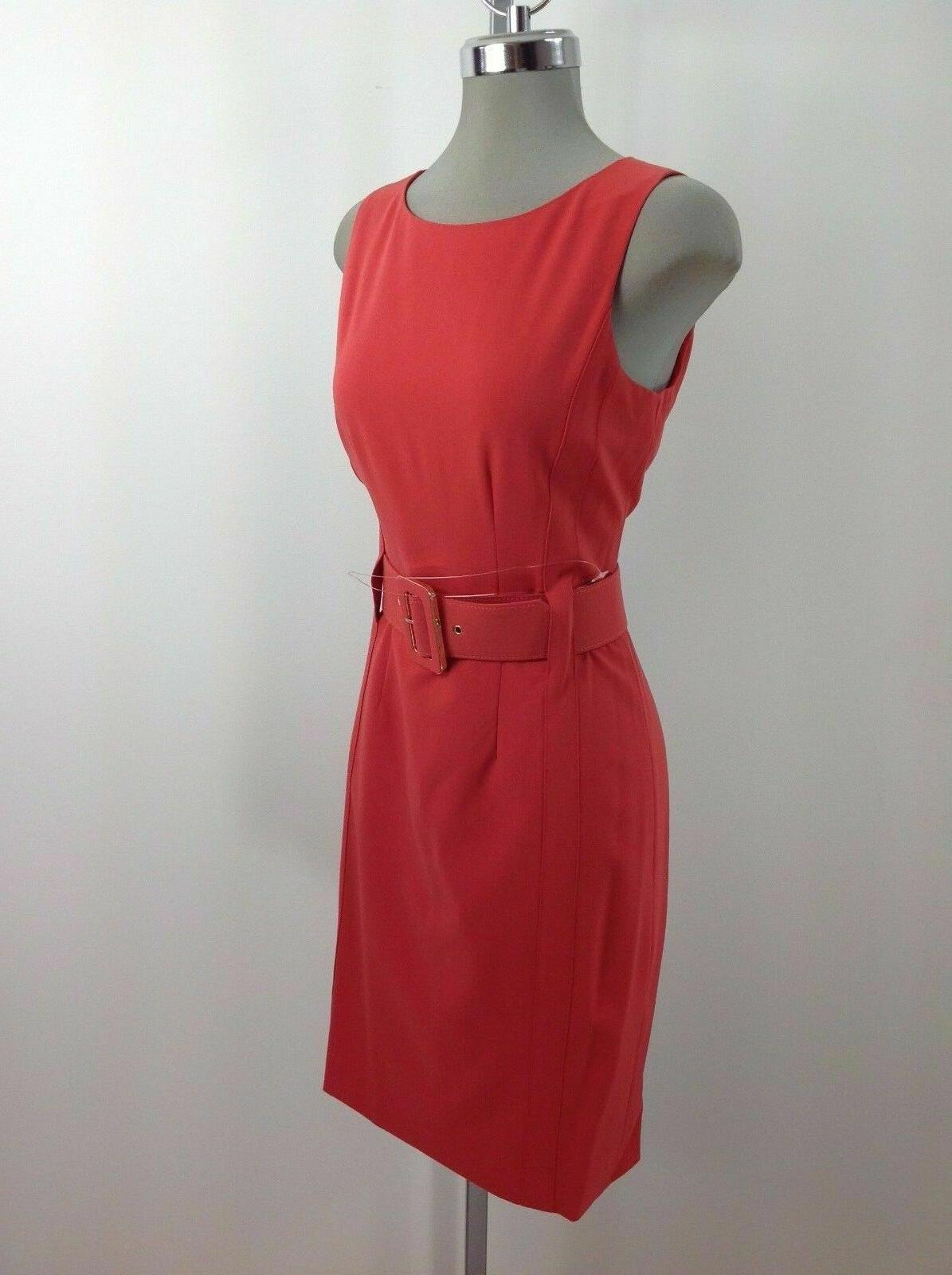 Calvin Klein NWT Elegant RED Work