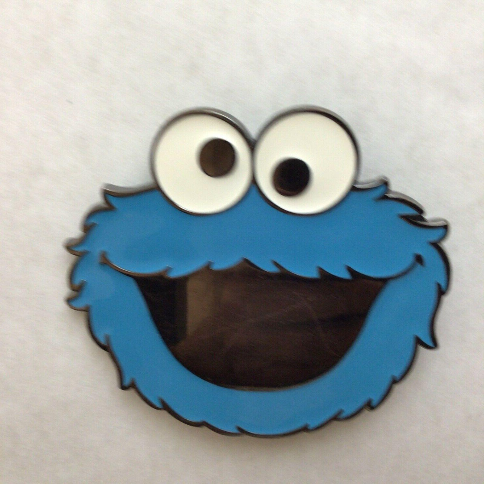 Official 2010 Sesame Street COOKIE MONSTER Belt Buckle **Coo