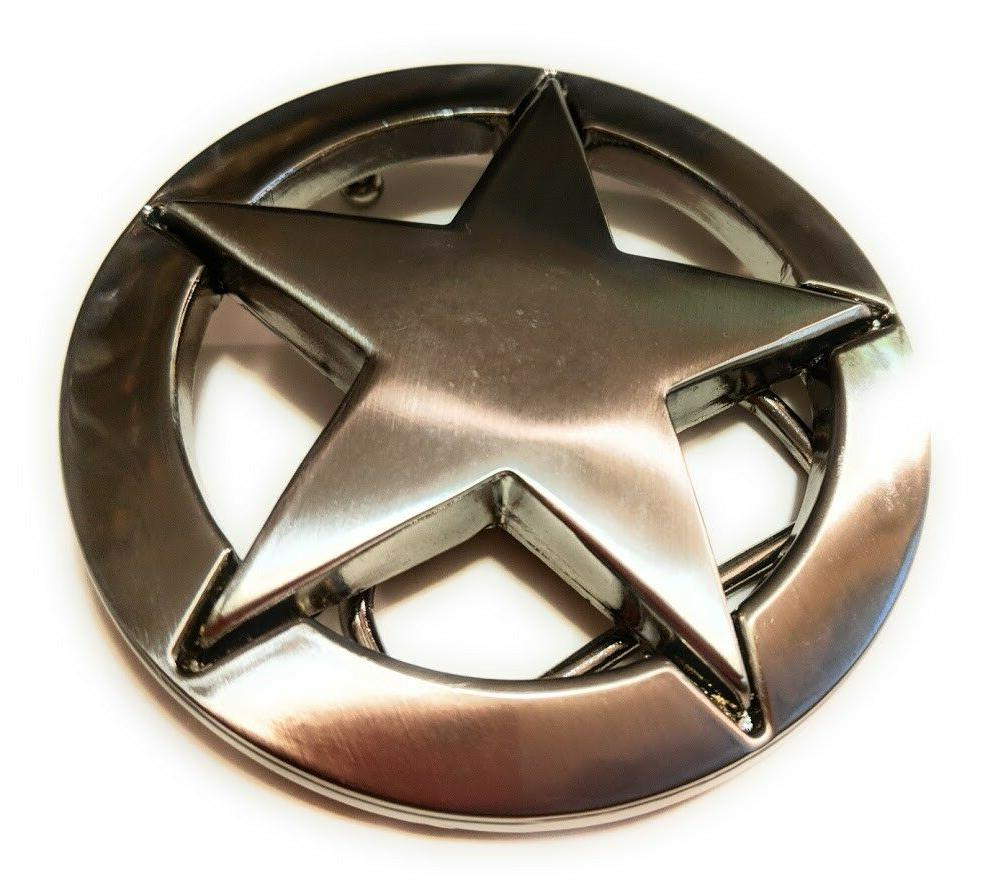 ♈ Star Belt Buckle Sheriff Seller cowboy