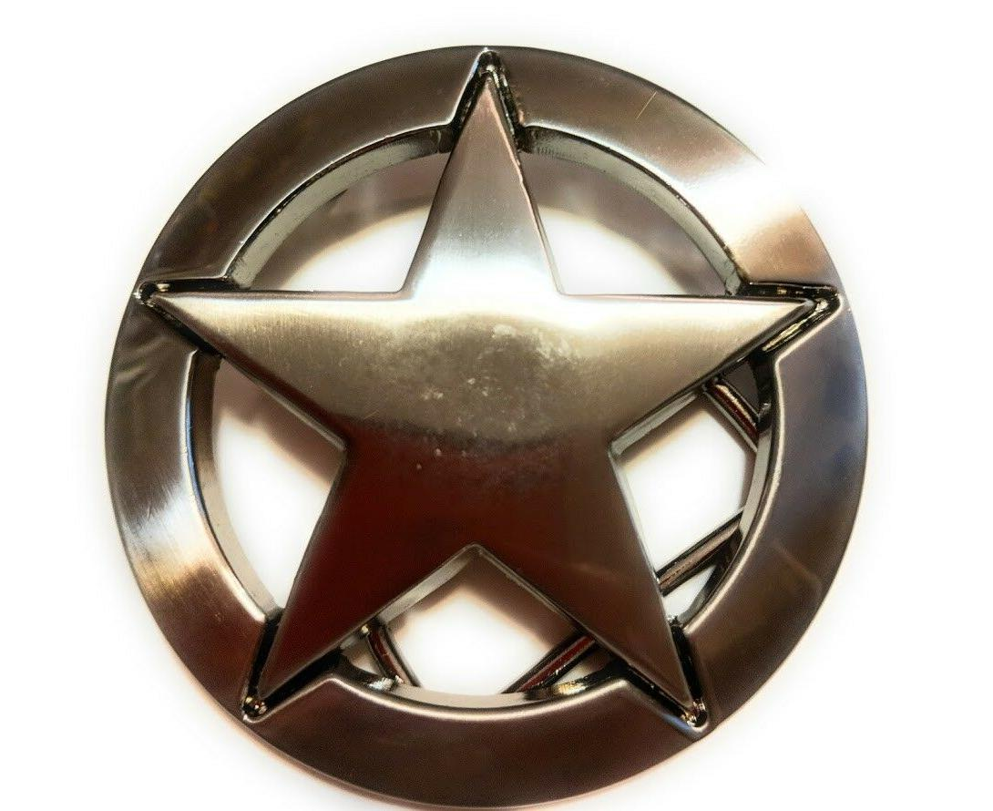♈ West Belt Buckle Sheriff cowboy USA