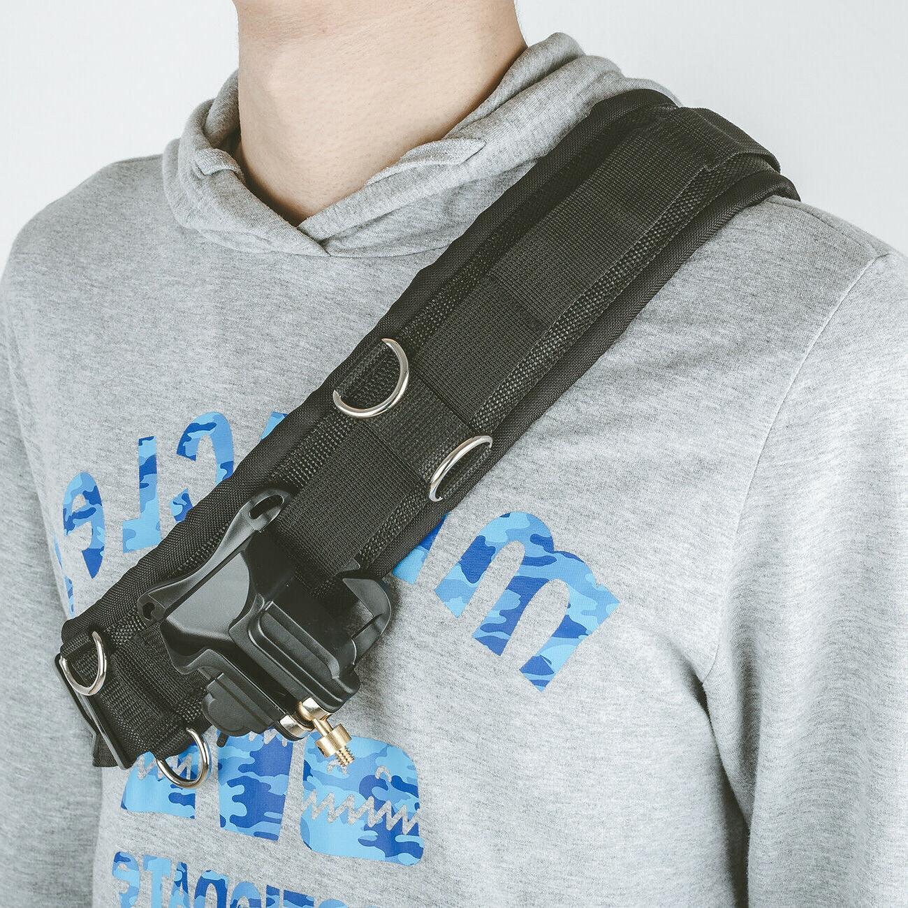 Portable Waist Belt Buckle Strap Hanger for Canon Sony Cameras