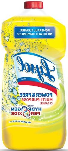 Lysol Power and Free Multi-Surface Cleaner with Hydrogen Per