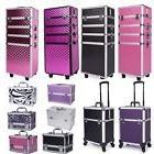 Professional makeup Case Box Cosmetic Organizer Travel Large