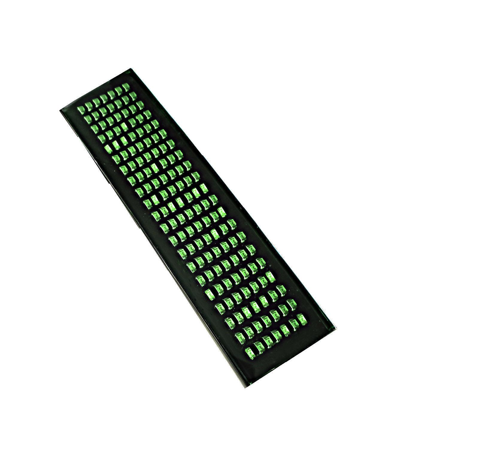 Programmable Green LED Belt Buckle Circuit Board Insert Bund