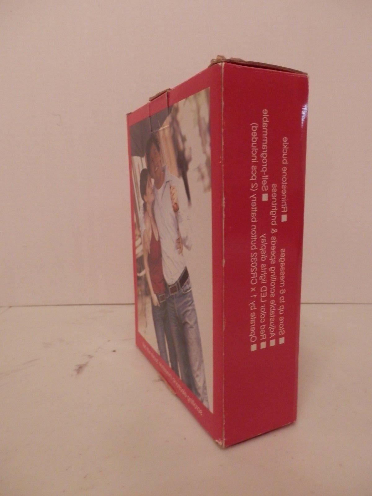 Programmable Red Belt w/Black M-NIB-Free Shipping