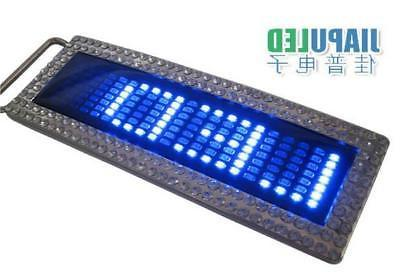 Programmable Message Display LED Flash Buckle