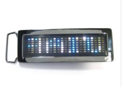 Programmable Scrolling LED Buckle Text