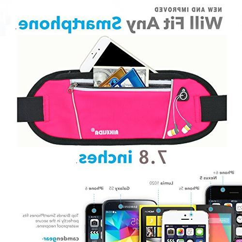 AIKELIDA Running Belt/Waist Samsung Edge/Note/Galaxy Women During Sports Running, Cycling, Workout