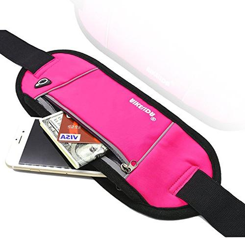 AIKELIDA Belt/Waist Pack Samsung Edge/Note/Galaxy - Women During Fitness, Running, Workout -