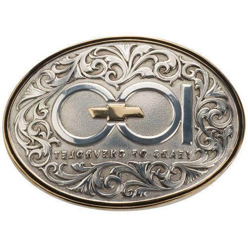 sale 100th anniversary belt buckle 100 years