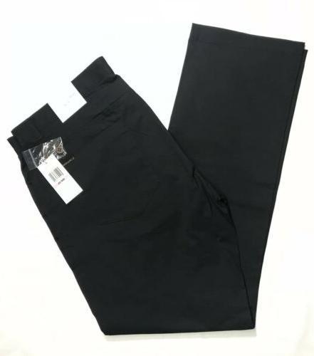 slim fit pants black mens new